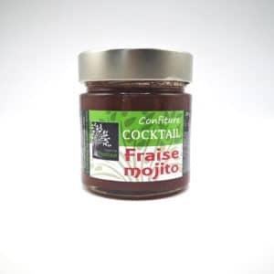 Confiture fraise mojito