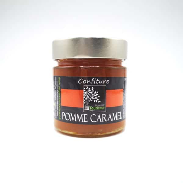 CONFITURE DE POMMES CARAMEL FLEUR DE SEL